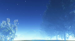 Stock Video Footage of night stars