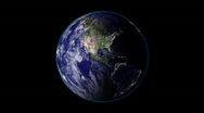 Stock Video Footage of Planet Earth Day to Night
