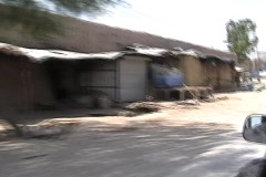 Driving Through The Tribal Areas in Pakistan Stock Footage