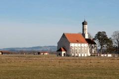 Rural church Stock Footage