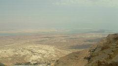 Masada antiquities 5 Stock Footage