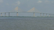 Stock Video Footage of The Sunshine Skyway Bridge