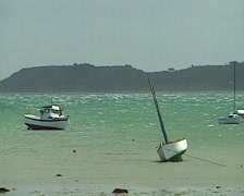 Northwestern France. Brittany.  Stock Footage