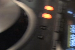 DJ Spins Turntables 2 Stock Footage