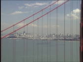 Stock Video Footage of Golden Gate 3