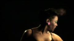 Professional Female Dancer Stock Footage