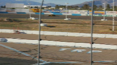 Race car time trial runs - 3 Stock Footage