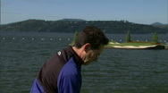 Mountain Golf Course 9 Stock Footage