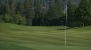 Stock Video Footage of Mountain Golf Course 10