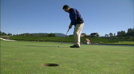 Stock Video Footage of Mountain Golf Course18