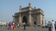 Stock Video Footage of Gateway of India