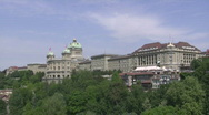 Stock Video Footage of Swiss parliament long shot