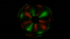 Rotating Color Wheel Stock Footage