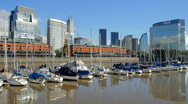 Stock Video Footage of Puerto Madero
