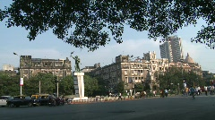 Fort Area, Mumbai Stock Footage