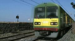 Dart Train Stock Footage
