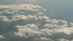 Above the clouds - stock footage