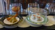 Stock Video Footage of Sushi Varieties