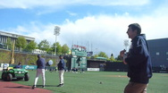 Baseball Pregame Time Lapse Stock Footage
