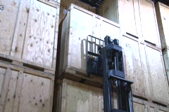 Forklift - stock footage