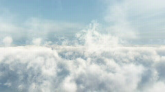 HD Cloud Fly Through 4 Stock Footage