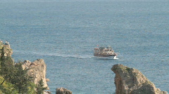 Sight seeing near Antalya Stock Footage