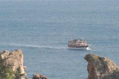 Sight seeing near Antalya Stock Footage
