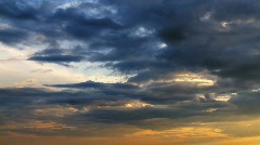 Time-lapse Clouds Stock Footage