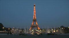 Eiffel Tower in Paris, France - Europe HD Stock Footage