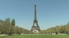 Eiffel Tower in Paris, France - Europe HD Stock Footage
