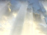 5516 Heavenly glow rays Stock Footage