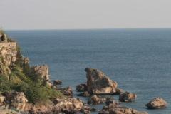 Cliffs of Antalya - stock footage