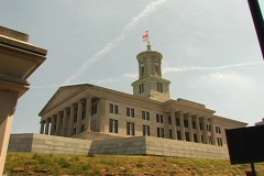 TN Capitol Bldg-DV NTSC - stock footage