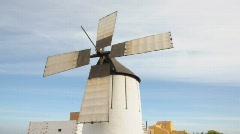 Wind mill - stock footage