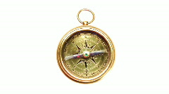 Compass - stock footage