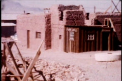 Ghost Town Mining 1950's - stock footage