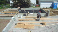 Building A House 9 Stock Footage