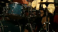 Jm953-Jazz Drummer Stock Footage