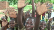 Stock Video Footage of Malawi: happy african children 1