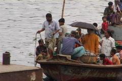 Bangladesh busy port 03 Stock Footage