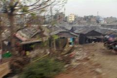 Bangladesh slums 01 - stock footage