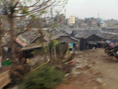Bangladesh slums 01 Stock Footage