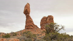 Arches National Park Time Lapse - Clip 4 Stock Footage