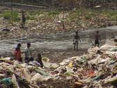 Bangladesh slums 09 Stock Footage