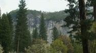 Yosemite, Moody North Wall-B Stock Footage