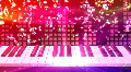 Music keyboard 2d HD Footage