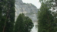 Yosemite, Moody Stairway Falls-A Stock Footage