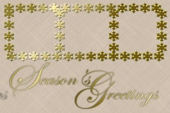4932 Seasons Greetings Christmas Card Background Stock Footage