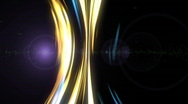 Lights in motion Stock Footage