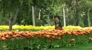 Little Boy Running   Full HD 1080p Stock Footage